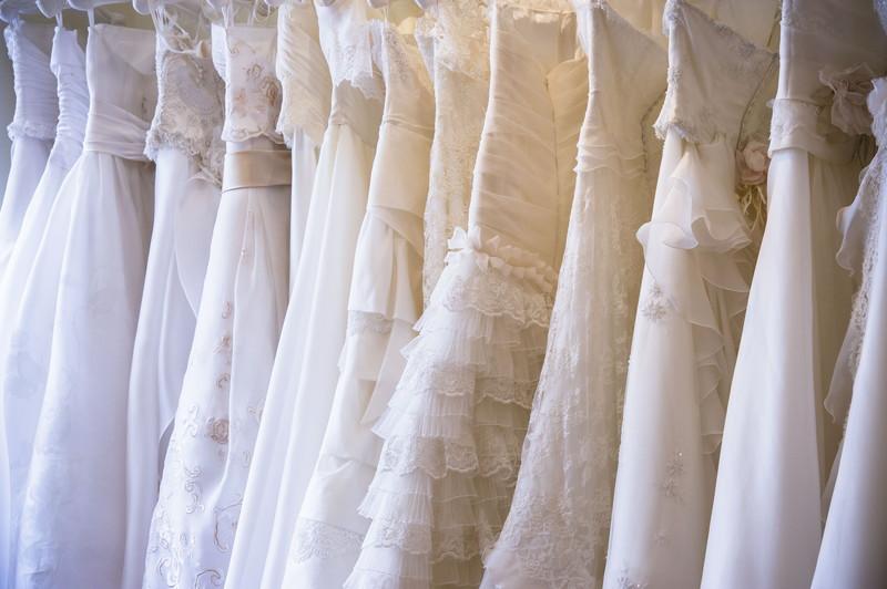沢山のドレス